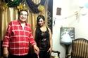 سعيد طرابيك يحتفل بعيد ميلاد زوجته سارة طارق
