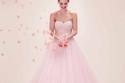 فساتين خطوبة وزفاف رائعة  باللون الوردي