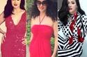 غادة عبد الرازق لديها تنوع في الألوان ولكن الأحمر جزء أساسي من خزانتها وهو دليل على شخصية عاطفية وحساسة تستخدم قدراتها في الإبداع كما أنها شخصية يُعتمد عليها