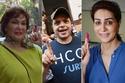صور النجوم يشاركون في انتخابات البرلمان المصري الجديد