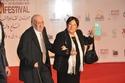 الفنانة الكبيرة سميرة عبد العزيز وزوجها الكاتب الكبير محفوظ عبد الرحمن