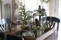 صور أفكار دافئة لديكور غرفة المعيشة في فصل الشتاء