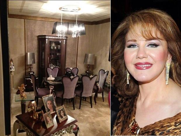 صور تنشر لأول مرة من منزل الفنانة الكبيرة ميادة الحناوي تظهر ذوق مختلف، ما رأيكم به؟