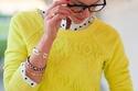 أفكار لارتداء اللون الأصفر في شتاء 2016