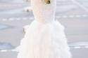 فساتين زفاف الريش تعود في 2016 … أجمل الموديلات