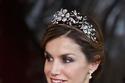 الملكة ليتيزيا ترتدي تاج The Floral Tiara