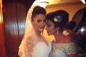 أصالة بالكاد سيطرت على عواطفها في زفاف ابنتها شام