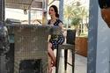 صور ميساء مغربي على طبيعتها في كواليس تصوير غلاف ليالينا