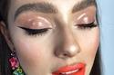 صيحات مكياج عيون مميزة glossy بدرجات ألوان الخريف