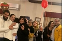 حنان مطاوع تحتفل بعيد ميلادها مع عائلتها