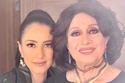 حنان مطاوع مع  والدتها سهير المرشدي