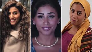 رصد تغير شكل دينا الشربيني في دراما رمضان من الأدوار الثانية للبطولة