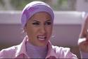 أطلت دينا الشربيني في دور ثان مرتدية حجاب في دور فتاة بسيطة