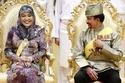 السلطان حسن بلقيه وزوجته الملكة صالحة