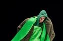 إطلالة  باللون الأخضر من مجموعة Kenzo لخريف 2021