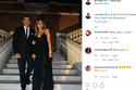 عمرو دياب علق على صورته مع دينا الشربيني بأنهما الآن في اسبانيا