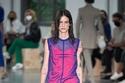 فستان قصير مع فستان ميدي شفاف من مجموعة Sportmax