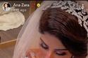تفاصيل شعر زارا في تصوير حفل الزفاف