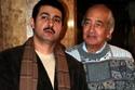 ياسر جلال مع والده المخرج جلال توفيق