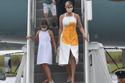 إيفانكا ترامب خلال رحلتها إلى فلوريدا