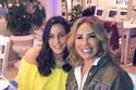 إيناس الدغيدي مع ابنتها حبيبة في مهرجان الإسكندرية