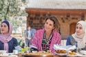 الملكة رانيا في زيارة إلى أربد