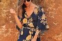 فستان ملون ماكسي بستايل kimono 1