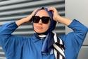 أفكار لفات حجاب للعيد بالطريقة التركية