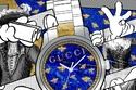 Gucci تطلق مشروعاً تعاونياً جديداً حول ساعة G-Timeless