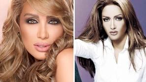 بالصور: فنانات عربيات قبل عمليات التجميل وبدون مكياج