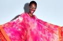 عباية ملونة  Tie Dye من Tom Ford
