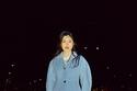 معطف سماوي من مجموعة Ganni ريزورت 2022