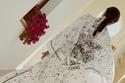 """عباية أنيقة من مجموعة الكبسولة """"ديور شي موا"""" Dior Chez Moi"""