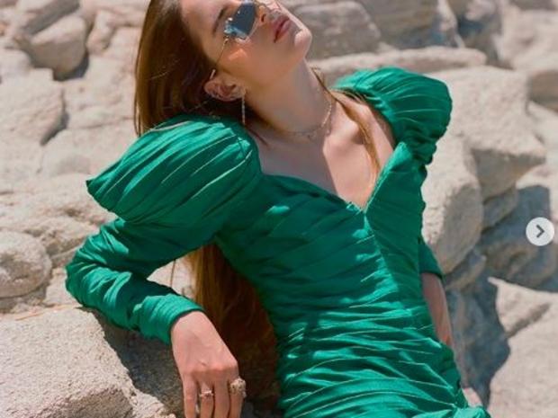 عارضة الأزياء السعودية تليدة تامر