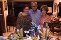 نور الشريف وعائلته