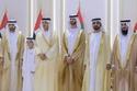 من حفل استقبال زفاف الشيخ خالد آل نهيان