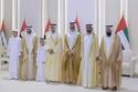 حكام وشيوخ الإمارات يشاركون في أفراح آل نهيان وآل مكتوم