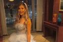 صورة مقربة تكشف فستان ملك قورة الأول في زفاف شقيقتها