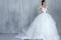 فساتين زفاف أميرية لإطلالة خيالية من المصمم طوني شعيا لعروس 2016