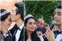24 صورة عفوية من حفل زواج هبة مجدي.. نظرات العين تكشف الكثير وفنان قدير شاهد على عقد القران
