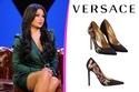 حذاء هيفاء وهبي من Versace