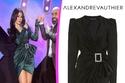 فستان هيفاء وهبي حمل علامة Alexander Vauthier