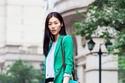 أزياء باللون الأخضر تليق بالمحجبات في العيد الوطني السعودي