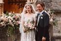 الأميرة بياتريس تحتفل بزفافها بنفس فستان الملكة إليزابيث مع تعديل واحد