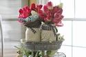 سلة بيض مزينة لعيد الفصح