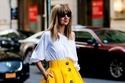 اللون الأصفر يكتسح صيحات أزياء ربيع وصيف 2019