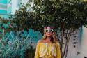 أزياء ربيع وصيف 2019 جمبسوت أصفر