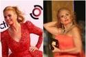 يسرا لفتت الأنظار فستانها الأحمر بتصميم يوسف الجسمي