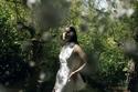 فستان زفاف منسدل على القوام من جورج شقرا