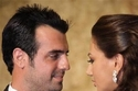 ملكة جمال لبنان غابريال بو راشد وزوجها